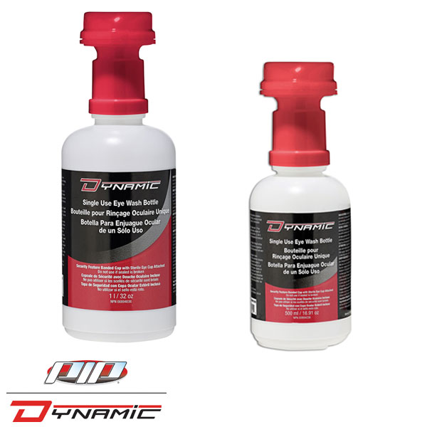 Single Use Eyewash Replacements 16oz 32 oz