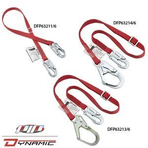 DFP63211-213-214 Single Leg Adj. Lanyards