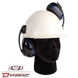 DNP112 Spitfire Cap-Mounted Ear Muffs
